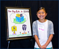 Tea Takayama, third grader, Patton Elementary School
