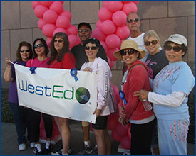 WestEd representation was also significant at the Southern California walk.